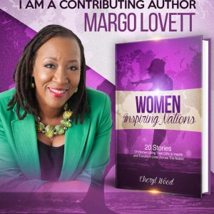 Margo Lovett is the creator and host of Her Business Her Voice Her Conversation, a podcast streaming worldwide on iTunes, iHeart Radio, Pandora, Apple Podcast, Spotify.